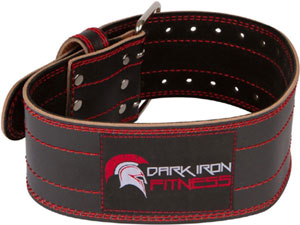 dark iron fitness lifting belt