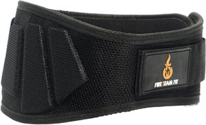 fire team fit lifting belt