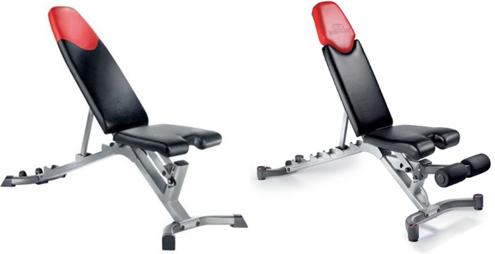 bowflex selecttech 3.1 5.1 adjustable bench