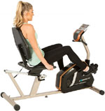 exerpeutic gold 975xbt recumbent bike m