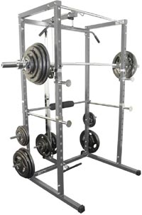 power rack with lat pull attachment 1