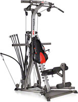resistance rods home gym