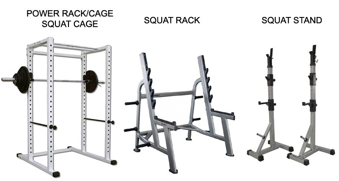 squat racks cages stands 1