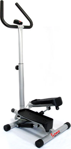 sunny twister stepper with handle bar 1