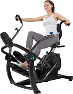 teeter freestep recumbent cross trainer m
