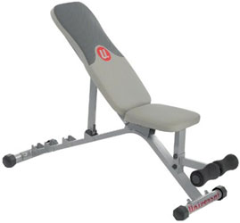 universal five position weight bench 1